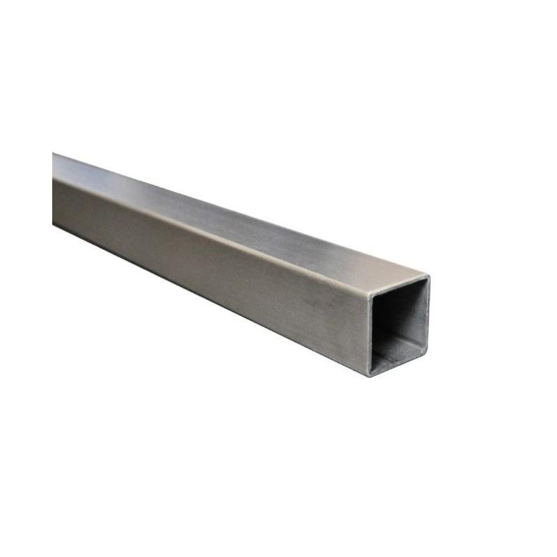 Tube carré acier 30 x 30 mm