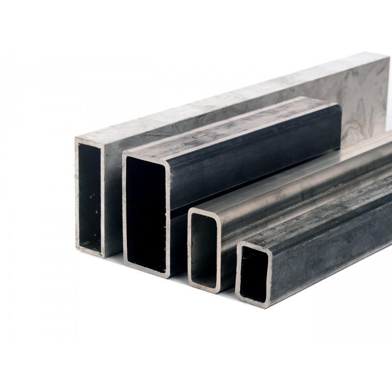 Tube rectangle acier 80 x 50 mm