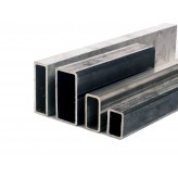 Tube rectangle acier 120 x 60 mm
