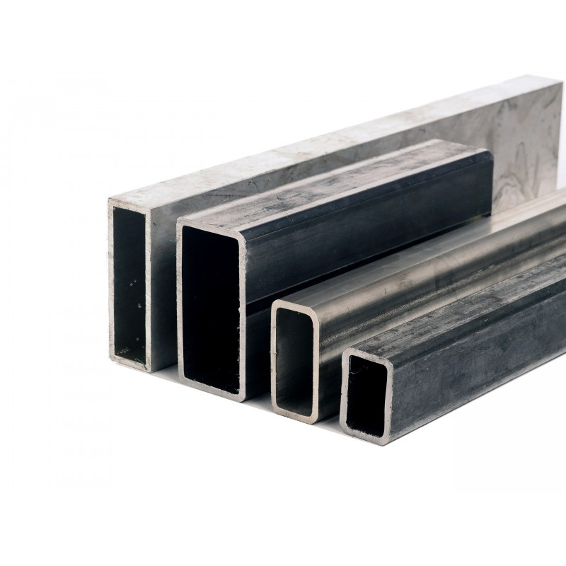 Tube rectangle acier 200 x 100 mm