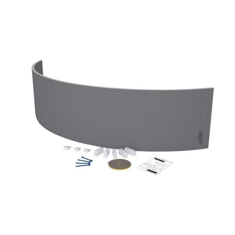 Tablier de baignoire courbé 2600x600x30 mm
