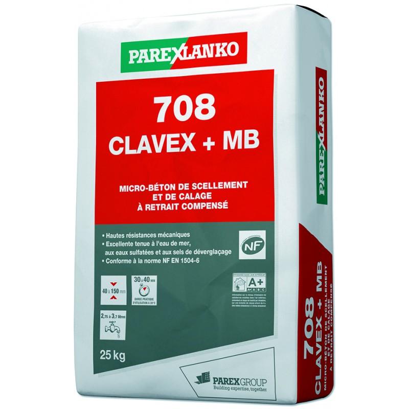 708 CLAVEX PLUS MB 25KG