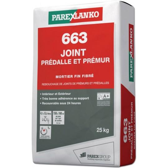 663 JOINT PREDALLE PREMUR 25KG