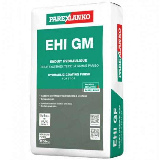 EHI GM (ENDUIT HYDRAULIQUE GM) 25KG