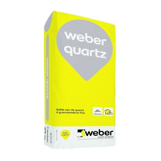 WEBER QUARTZ 25KG
