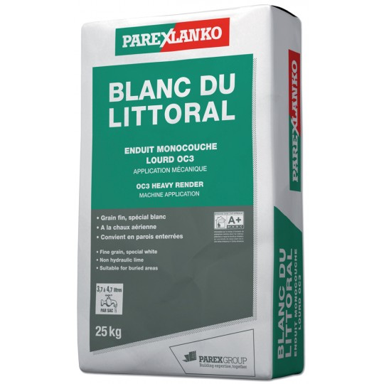 BLANC DU LITTORAL 25KG