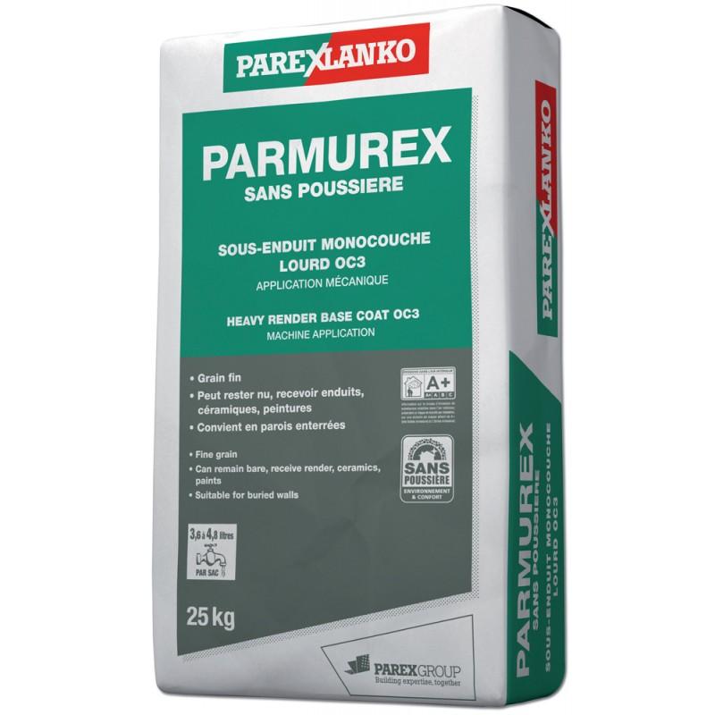PARMUREX SANS POUSSIÈRE 25KG - PALETTE (48 sacs)