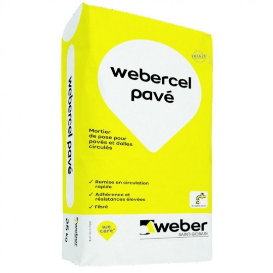 WEBERCEL PAVÉ 25KG (WEBER.CEL PAVÉ)