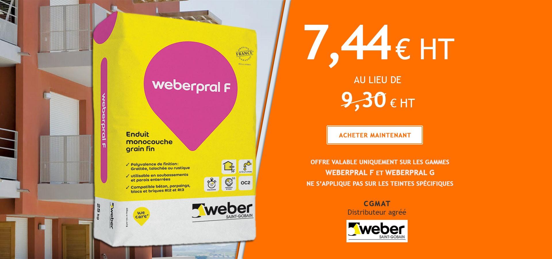 Weberpral F